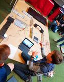 Bedöma händelsen - unga ICT-utforskare - södra Australien Royaltyfri Bild