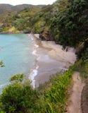 Bedöva den lilla Oke stranden i Rawhiti Royaltyfri Bild