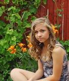 bedöva för flicka som är tonårs- Royaltyfri Bild