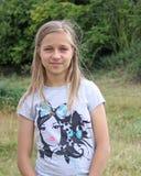 bedöva för flicka som är tonårs- Arkivfoto