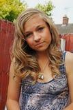 bedöva för flicka som är tonårs- Royaltyfria Bilder