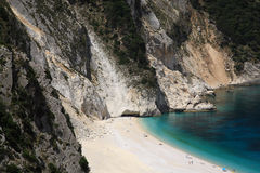 bedöva för strandmyrtos Royaltyfri Foto