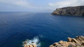 Bedöva kustlinjen, Sardinia arkivfilmer