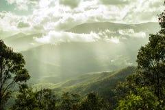 Bedöva landskap i högslättarna arkivfoton
