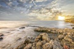 Bedöva landskap med panoramautsikt Fotografering för Bildbyråer