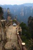 Bedöva landskap, Zhangjiajie Kina Royaltyfri Fotografi