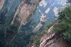Bedöva liggande, Zhangjiajie Kina Royaltyfri Bild
