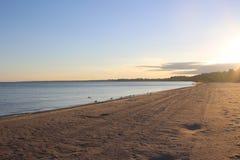Bedöva sikter av Lake Erie: Port Stanley Ontario Canada: Royaltyfri Foto