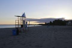 Bedöva sikter av Lake Erie: Port Stanley Ontario Canada: Royaltyfri Fotografi