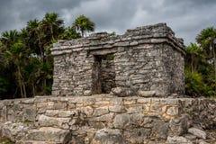 Bedöva tulum Mexiko forntida civilisation arkivfoton