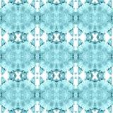 Bedöva vattenfärgmodellen för keramiska tegelplattor och garnering vektor illustrationer