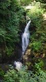 Bedöva vattenfallet på Aira styrka fotografering för bildbyråer