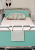 Bed. A empty bed in hospital Royalty Free Stock Photography