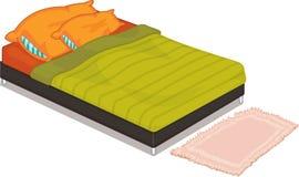 Bed stock illustration