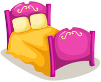 Bed stock illustration