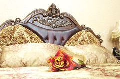 Bed Stock Photo