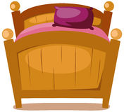 Bed royalty free illustration
