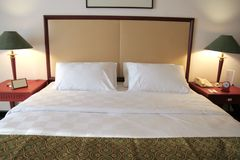 The bed Royalty Free Stock Photos