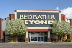 Bed Bath & Beyond商店 库存照片