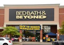 Bed Bath & Beyond fotografia de stock royalty free