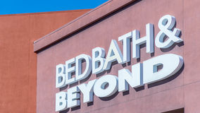 Bed Bath & Beyond Lizenzfreie Stockbilder