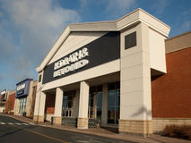 Bed Bath & Beyond. DARTMOUTH, CANADA - MARCH 21, 2014: Bed Bath & Beyond retail outlet. Bed Bath & Beyond is a chain of retail stores in the United States Stock Image
