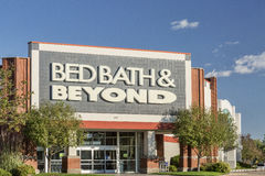 Bed- Bath & Beyondspeicher Lizenzfreie Stockfotos