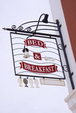 Bed & breakfast Royalty Free Stock Images