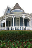 Bed and Breakfast. An old-fashioned bed and breakfast with a large open porch Stock Photography