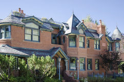 Bed and Breakfast in Colorado. A beautiful bed and breakfast mansion in Colorado Stock Photo