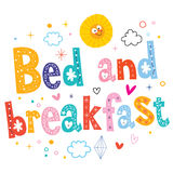 Bed and breakfast Royalty Free Stock Photography