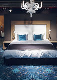 Bed in classic style Stock Photo
