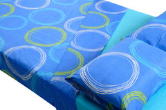 Bed close up. Royalty Free Stock Images