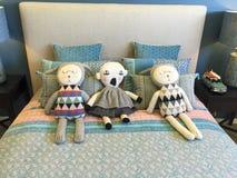 Bed companions Stock Photo