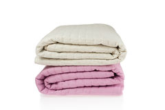 Bed Covers stock images