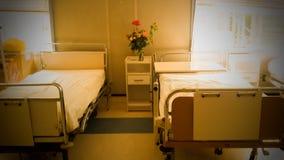 bed den små modern för det gröna sjukhuset nära nyfött s royaltyfri bild