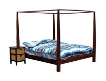 Bed frame Royalty Free Stock Photography
