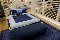 Bed home furniture department store Royalty Free Stock Photo