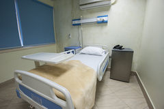 Bed in a hospital ward Royalty Free Stock Photos