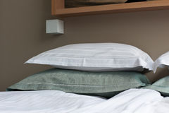 Bed in Hotel Room Royalty Free Stock Photography
