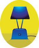 Bed lamp Royalty Free Stock Photos