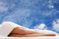 Bed Legs Royalty Free Stock Photos