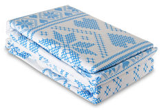 Bed linen Stock Photography