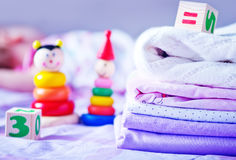Bed-linen Royalty Free Stock Photography