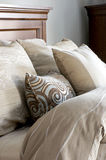 Bed Linens and Pillows Royalty Free Stock Image