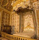 Queen's bed Stock Photos