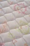 Bed Mattress close up Stock Image
