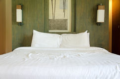 The bed Royalty Free Stock Images