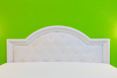 The bed in my room for decorate. Royalty Free Stock Photos