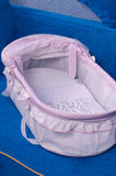 Bed for the newborn. Royalty Free Stock Photos